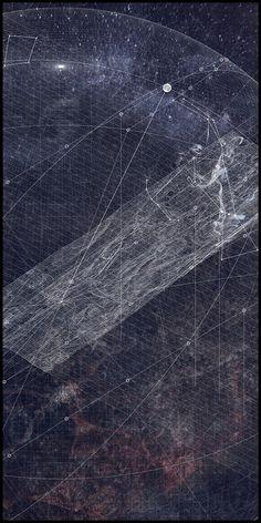 "W. Gavin ROBB, ""Roots Run Deep (A Tomb for Manfredo Tafuri)."" Site axonometric."