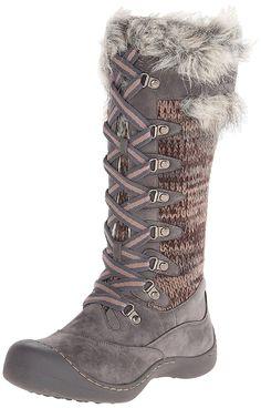 d45254744e578 Muk Luks Women's Gwen Tall Lace Up Snow Boot >>> Visit