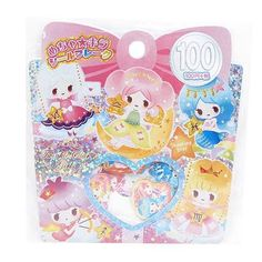 shiny cute girls sticker sack by Kamio 1