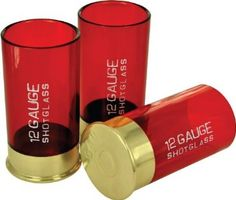 Amazon.com: 12 Gauge Shot gun shell glass!!! Party favors??? =) Maybe with the wedding date and or names instead of this lettering?