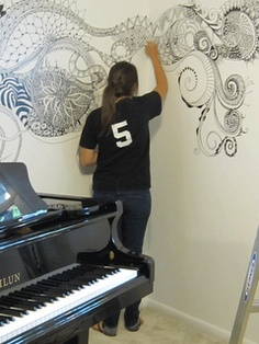 on piano wall - see the blog for details