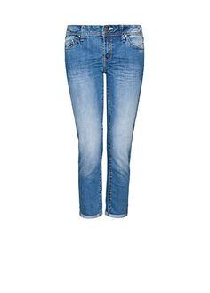 Capri pocket jeans