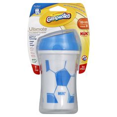 We have new cups in stock at Bambino Balls!  Check out our Soccer Tumbler Cup from Gerber. $6.95