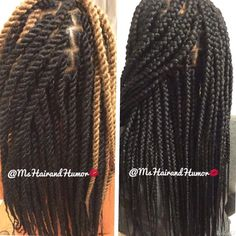 Precision is key for protective styles like box braids and marley twists.