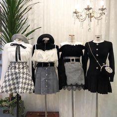 Rin joo na neul Kpop Fashion Outfits, Ulzzang Fashion, Stage Outfits, Edgy Outfits, Korean Outfits, Cute Casual Outfits, Pretty Outfits, Girl Outfits, Kawaii Fashion