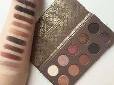 Zoeva Cocoa Blend Swatches on RainingBeauty.ca!                                                                                                                                                                                 More