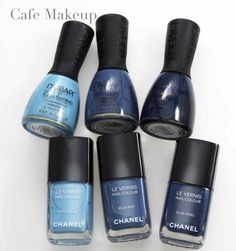 Dupes for Chanel Jeans collection Nail Polish Dupes, Chanel Nail Polish, Cute Nail Polish, Chanel Nails, Fancy Nails, Cute Nails, Manicure And Pedicure, Gel Nails, Cafe Makeup