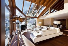 Luxury Chalet in Swiss Alps - Interior Design #chalet #ski #snow #winter #mountain #holiday #awesome #luxurylifestyle #lifestyle #life #billionaire #millionaire #rich #luxurylife #business #couples #exclusive #gold #money #travelblog #beautiful #places #photooftheday #interiordesign #interiordesignideas #amazing #interiordesign #interiordesignideas #inspire #inspirational