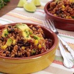 One Skillet Mexican Quinoa - Allrecipes.com
