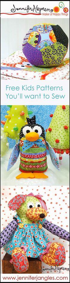Jennifer Jangles Blog: Sewing Patterns for Kids