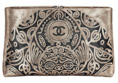 Beautiful - I have never bought a high $$ purse but would consider this.....CHANEL Bombay clutch