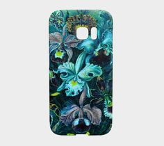 Beautiful Painted Vintage Flowers Samsung Galaxy S7 Edge Case