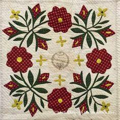 Rose of Sharon, 1847-8; Telling Stories Through the Needle's Eye: Lovely Lane