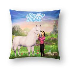 Star Stable Pillowcase . you can get at the star stable shop !