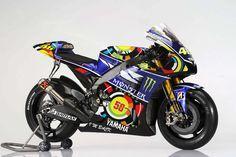 Valentino Rossi Yamaha Monster livery