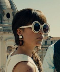 Alicia Vikander House of Holland Annice Sunglass from The Man from U.N.C.L.E. | TheTake