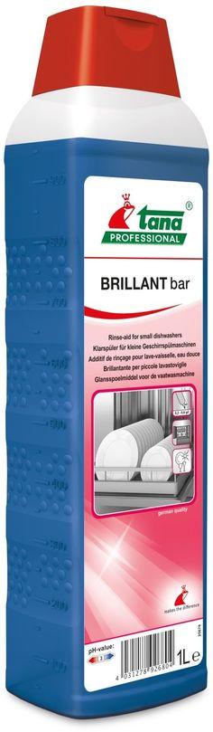 Brillant Bar 1L agent clatire: TANA-2680 creste performanta masinii si eficienta prin evitarea dezvoltarii spumei deranjante.
