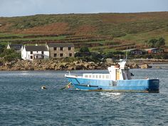 Firethorn moored off Bryher