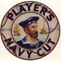 Player's Navy Cut Logo c 1893 Vintage Posters, Vintage Art, Kiss Tattoos, Mermaid Board, Advertising History, Steampunk Pirate, Cigarette Girl, Lifebuoy, Sign Writing