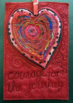 courage for the journey Prayer flag