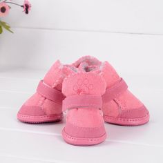 Warm Dog Cat Pet Shoes Cute Chihuahua Puppy Boots Shoes S/M/L/XL/XXL W99 #clothing,#shoes,#jewelry,#women,#men,#hats,#watches,#belts,#fashion,#style