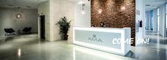 La recepción del spa. Our spa's reception #ama #islantilla #andalusia #andalucía #hotel #luxury #lujo #resort #spa