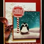 Holly Jolly Penguin – Stampin' Up! Card |