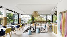 Interiors | alwill  #hotel #interiors #dining #restaurant #view