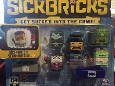 Sick Bricks - Sick Team - 5 Character Pack - City vs Monster Kids Toys Building #SpinMaster