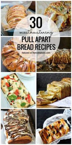 Pull Apart Bread 30 Recipe Round Up Homesteading  - The Homestead Survival .Com
