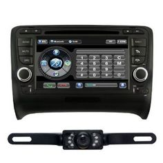 """For AUDI TT (2002-2011) 7"""" 2 DIN CAR DVD Player GPS with PIP RDS Rear Camera Bluetooth CD7903R by Tyso USA. $498.00. * pls make sure the unit fit for your car before order *we suggest you go to a professional installer.  *any questions about the unit,Please email us back,We will solve to your satisfaction  Specification: It is specially made for 2002-2011 Audi TT, Win CE6.0 Operating System. It has almost all the functions of car DVD nowadays, such as built-in GPS, DVD player..."""