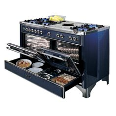 Oh what I could do with this!     Products- ILVE- Kitchen Appliances, ovens, cooktops, rangehoods, freestanding and built-in, tepanyaki cooking