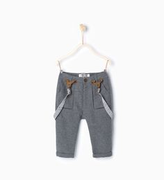 Trousers with braces-MUST HAVES-Baby boy | 3 months - 3 years-KIDS | ZARA United States