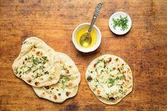 Naan (Indian Leavened Flatbread)