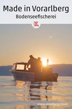 Berufsfischerin Regula Bösch aus Gaißau versorgt Vorarlberger Gastronomen mit fangfrischem Fisch aus dem Bodensee. Wir haben sie dabei begleitet. How To Make, Backdrops, Contemporary Design