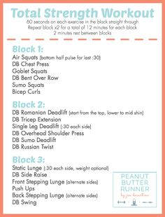 PBR Total Strength Workout Site Bekijken by stacelynn Full Body Workouts, Tabata Workouts, Strength Training Workouts, At Home Workouts, Weekly Workouts, Full Body Strength Workout, Runner Strength Training, Tabata Class, Body Pump Workout