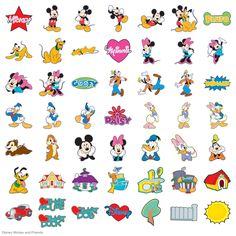 Disney® Mickey and Friends - Disney - Licensed Designs - Cartridges & Images