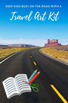 Love this idea! love to travel with my kids, but I've learned that I need to plan activities to keep kids busy on the road. This travel art kit is a great solution! Toddler Travel, Travel With Kids, Family Travel, Fun Activities For Kids, Travel Activities, Happy Mom, Happy Kids, Road Trip With Kids, Business For Kids