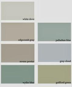 whole house colour scheme