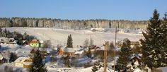 This lovely Ski Centre is called Kvilda and it is surrounded by wonderful landscape of Sumava National Park