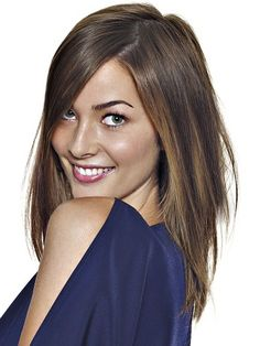 Pictures : Chocolate Brown Hair Color Ideas - Chocolate Brown Hair With Caramel Highlights
