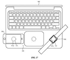 Your Next MacBook May Come With Wireless Charging Pads Laptop Computers, Computer Keyboard, New Electric Bike, Patent Drawing, Wireless Charging Pad, Lil Pump, Technology Gadgets, Making Out, Apple Watch