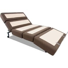 Contemporary Adjustable Bed by Rize 1600