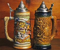 Saint Nick may not be paying you a visit this year but fear not for Krampus has your back. He'll reward your naughty ways by allowing you to get inebriated using this distinguished beer stein masterfully carved and painted with a rendition of his iconic image.