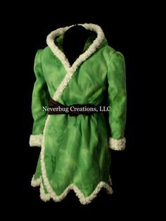 96d656ef0f Etsy の Tinkerbell Winter Fleece Coat by NeverbugCreations Tinkerbell  Costume Kids