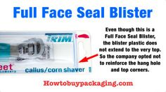 Full Face Seal Blister (Almost)