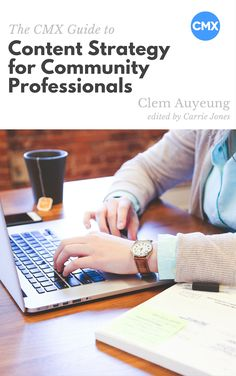 Content Strategy for Community Professionals Ebook Cover