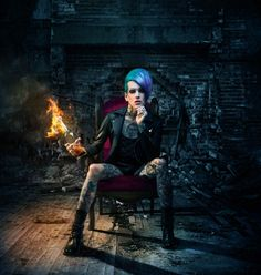 Some of Jeffree Star's best photo-shoots EVER! Jeffree Star Myspace, Jeffree Star Tattoos, Jefferee Star, Beauty Killer, Emo Scene, Blue Hair, Gorgeous Men, Rock And Roll, Cool Photos