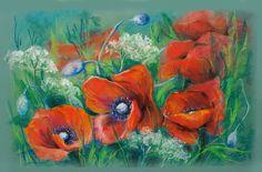 Рисунок пастелью. Автор Лилия Цветкова