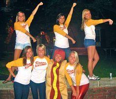 Kappa Dog Night. I love the hot dog costume. KKG. Beta Nu. Ohio State